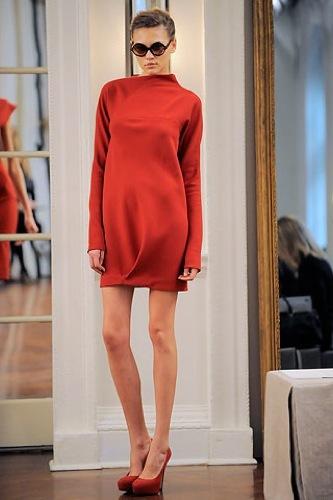 Victoria Beckham, Otoño-Invierno 2010/2011 en la Semana de la Moda de Nueva York II