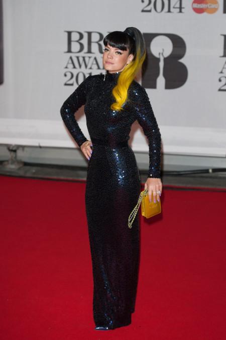 Lily Allen Brit Awards 2014