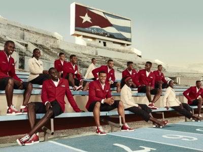 Christian Louboutin y SportyHenri pintan de rojo a la delegación cubana para los juegos de Rio