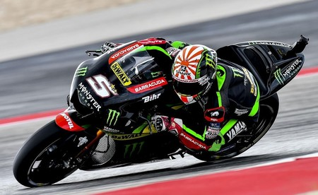 """Johann Zarco primera Yamaha y segundo clasificado en la FP2: """"Creo que puedo hacer una buena QP"""""""