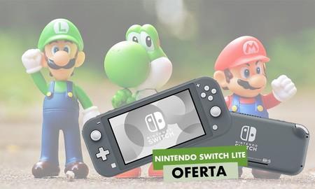 ¿Quieres ahorrar unos 20 euros comprando la Nintendo Switch Lite? En Amazon la tienes por sólo 199 euros