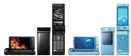 Panasonic 920P, teléfono con la denominación Viera