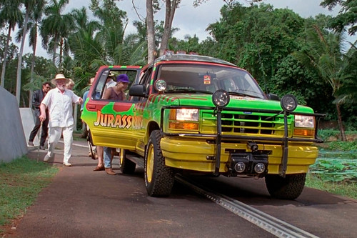 25 años de 'Jurassic Park': desvelando los secretos de su Ford Explorer
