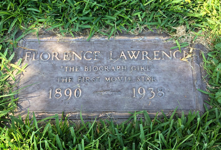 Florence Lawrence Lapida