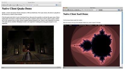 Native Client, código nativo desde el navegador