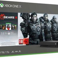 Consola Xbox One X, con Gears 5, más barata que nunca en Amazon: por 279 euros y envío gratis