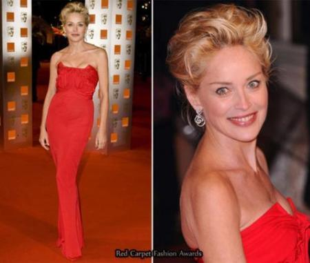 Sharon Stone BAFTA