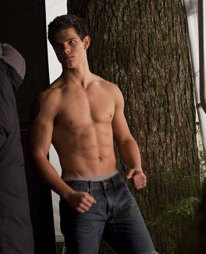 Foto de Taylor Lautner en Luna Nueva: eso es un buen torso y que se quite lo demás (1/5)