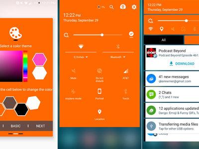 Samsung Good Lock 24.0.14: colores personalizados, notificaciones semitransparentes y más