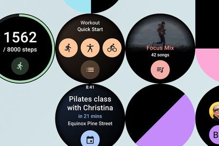 Las tarjetas de apps llegarán a Wear OS en los próximos meses: Google abre su API a los desarrolladores