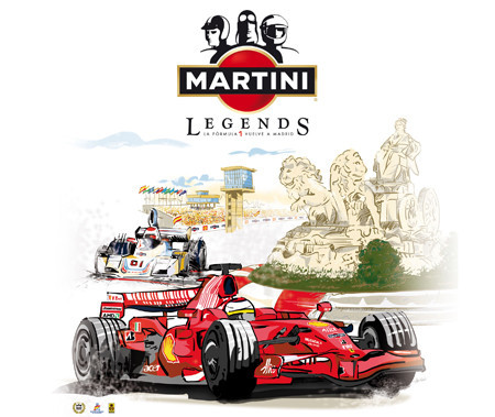 Las Martini Legends llegan a Madrid