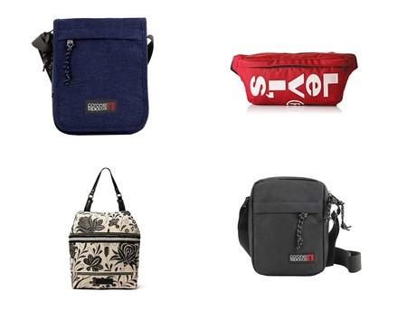 Ofertas de Amazon en bolsos, bandoleras y riñoneras de marcas como Levi's, Coronel Tapiocca o Desigual