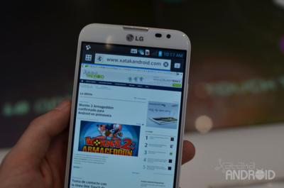 Un vistazo al Optimus G Pro, el 'phablet' de LG