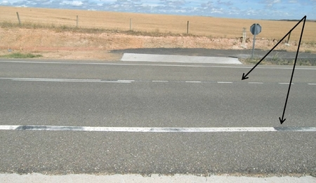 Carretera CL-527: aquí comienza el Far West