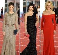 Analizamos los primeros looks sobre la alfombra roja de los Goya 2012