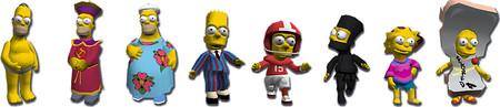 Simpsons Disfraces 2