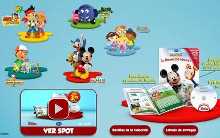 Libros y DVDs de Disney Junior con El País, una colección interesante