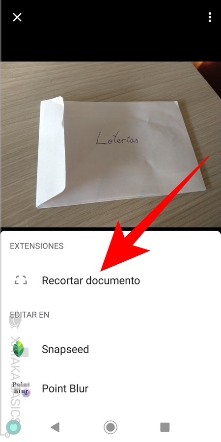 Recortar Documento