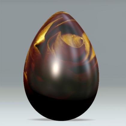 La pascua y su huevo de chocolate