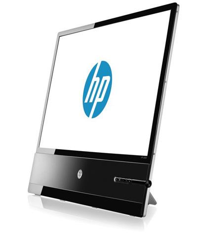 HP x2401, monitor que esconde su grosor