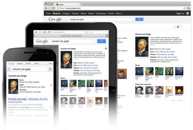 Knowledge Graph en mobile