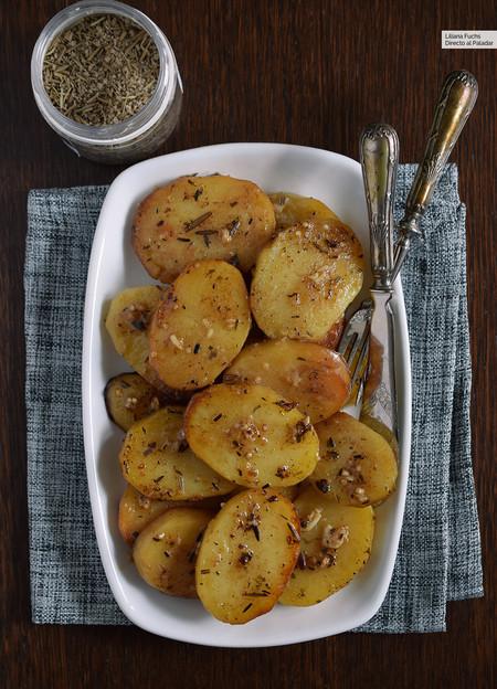patatas asadas que se deshacen en la boca