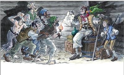 Volvemos a 'La isla del tesoro' de la mano de escritores e ilustradores