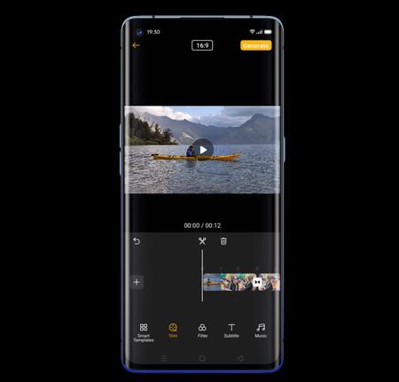 Oppo Find X2 Neo Software Camara