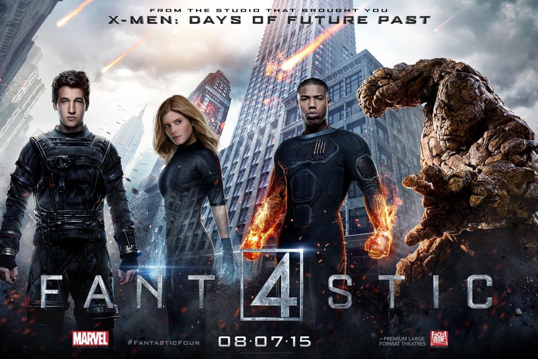 Todos los carteles y posters de 'Cuatro Fantásticos'
