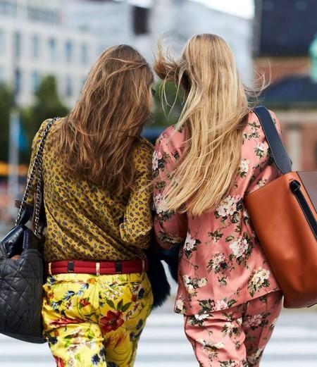 trajes de chaqueta de flores