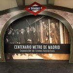 Planes en Madrid: Exposición de trenes Históricos del Metro en la estación de Chamartín
