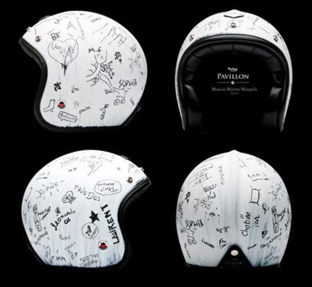 El casco de Maison Martin Margiela para Les Ateliers Ruby
