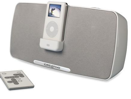 Creative PlayDock y Travelsound para el iPod