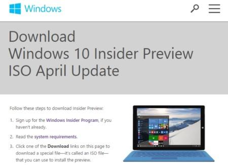 Windows 10 build 10074 está disponible oficialmente para todos los Insiders