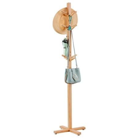 Cupón de descuento en el perchero de bambú de Langría: aplicándolo se queda en 22,39 euros