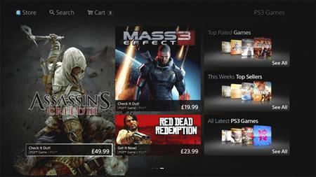 La nueva PlayStation Store ya cuenta con imágenes oficiales y fecha de lanzamiento