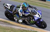 Josh Hayes, el campeón del AMA Superbike en acción
