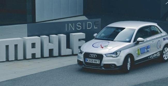 Mahle Audi A1 eléctrico de rango extendido 01