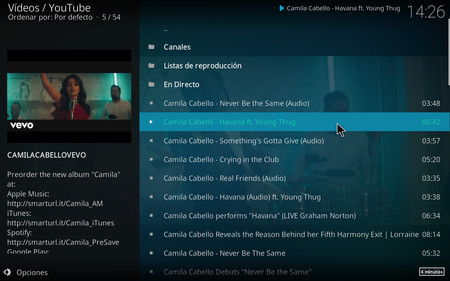 Videos De Youtube En Kodi