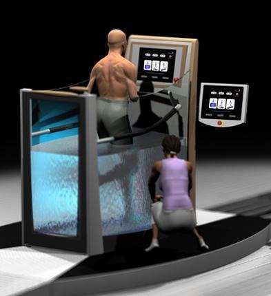 Fisioterapia y ejercicio en el agua con Hydro Physio