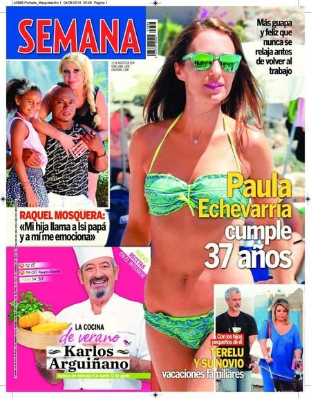 Paula Echevarría, again