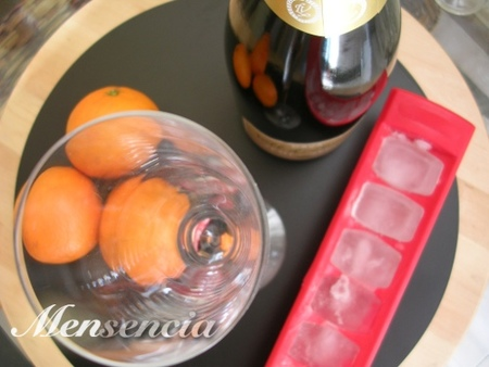 Ingredientes del Madame cócktail