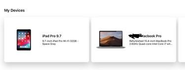 La aplicación de la Apple Store es ahora capaz de identificar dispositivos reacondicionados
