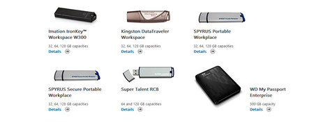 Dispositivos certificados Windows To Go. Feb 2013