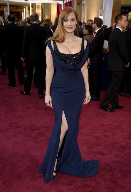 Jessica Chastain Oscar 2015