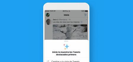 Por fin: Twitter permite volver al orden cronológico del 'timeline' a todos los usuarios a partir de hoy