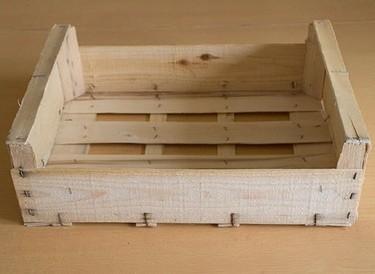 Recicladecoración: cinco usos para cajas de fruta de madera
