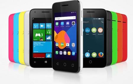 Pixi 3, Alcatel apostará por Android,  Windows Phone, y Firefox OS para sus nuevos móviles
