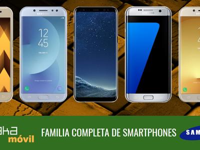 Así queda el catálogo completo de smartphones Samsung Galaxy en sus gamas S, A y J de 2017