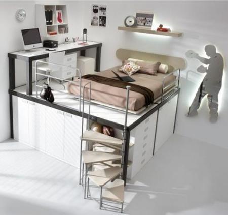 Compartiendo habitación a varias alturas (II)